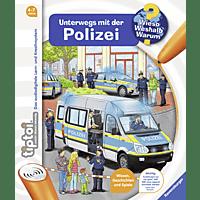 RAVENSBURGER tiptoi® Unterwegs mit der Polizei tiptoi Bücher, Mehrfarbig