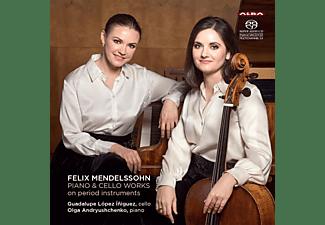 Felix Mendelssohn Bartholdy - Werke für Klavier und Cello auf historischen Instr  - (SACD)