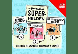 Die Grundschul-superhelden - Die Grundschul-Superhelden 3-CD-Box Vol.2  - (CD)