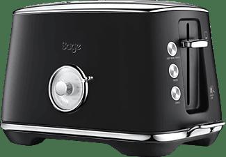 SAGE STA735BTR4EEU1 Luxe Toast Select Toaster Matt Schwarz (1000 Watt, Schlitze: 2)