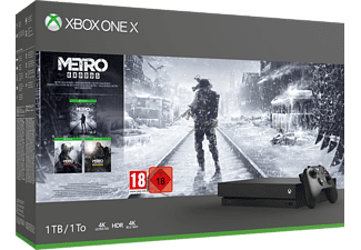 Bundle Xbox One X 1TB - Metro Saga -  -