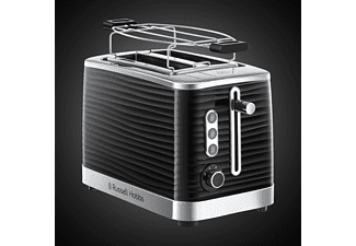 RUSSELL HOBBS 24371-56 RH Inspire Toaster Schwarz/Chrom (1050 Watt, Schlitze: 2)