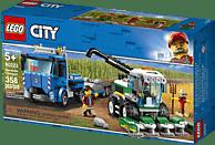 LEGO Transporter für Mähdrescher  Bausatz, Mehrfarbig