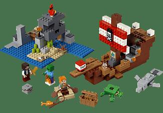 LEGO 21152 Das Piratenschiff-Abenteuer Bausatz, Mehrfarbig
