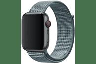 APPLE Nike Sport Loop, Ersatzarmband, Apple, Watch 42 mm, Watch 44 mm, Celestial Teal
