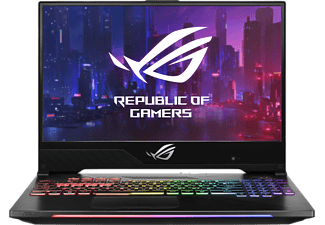 ASUS GL504GV-ES047T, Gaming Notebook mit 15,6 Zoll Display, Intel® Core™ i7 Prozessor, 16 GB RAM, 512 GB SSD, GeForce® RTX™ 2060, Schwarz