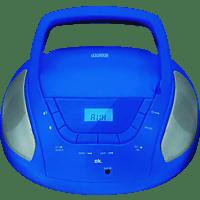 OK. ORC 133 BL Tragbares Stereoradio Blau