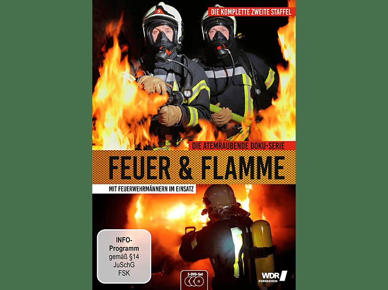 Feuer und Flamme - Mit Feuerwehrmännern im Einsatz - Staffel 2 [DVD]