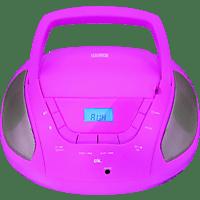 OK. ORC 133 PK Tragbares Stereoradio Pink