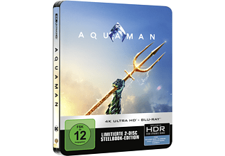 Aquaman (Exklusives Steelbook) - (4K Ultra HD Blu-ray + Blu-ray)