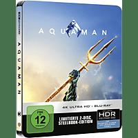 Aquaman (Exklusives Steelbook) [4K Ultra HD Blu-ray + Blu-ray]