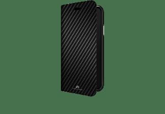 BLACK ROCK Flex Carbon, Bookcover, Samsung, Galaxy S10+, Schwarz