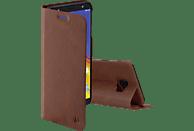 HAMA Guard Pro , Bookcover, Samsung, Galaxy J4+, Kunstleder, Braun