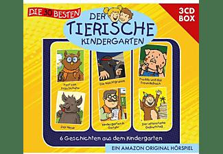 Der Tierische Kindergarten - Der Tierische Kindergarten 3-CD-Box Vol.1  - (CD)