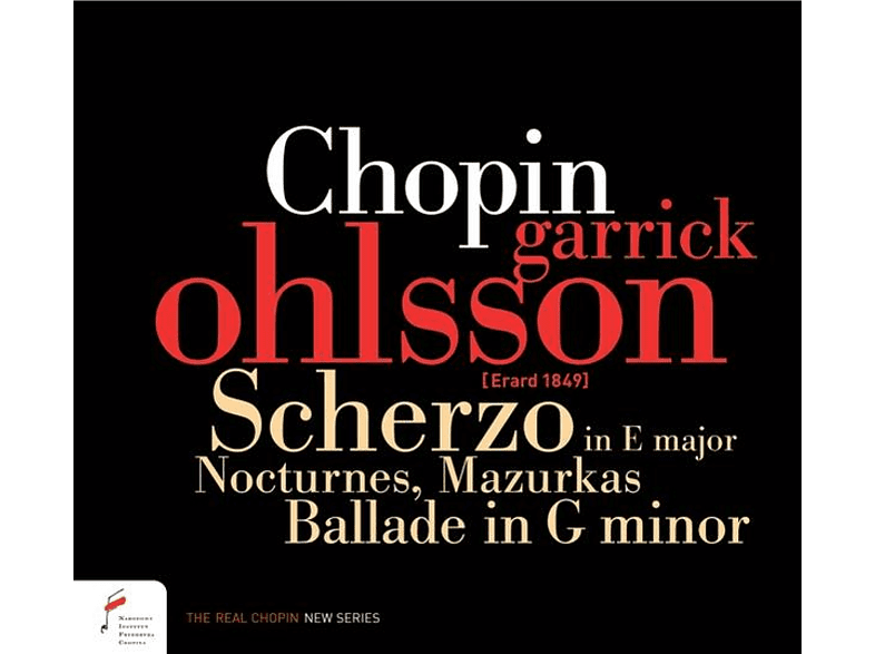 Erard Garrick Ohlsson - Chopin.Scherzo In E Major,Nocturnes,Mazurkas,B [CD]