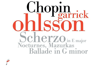 Garrick Ohlsson - Chopin.Scherzo In E Major,Nocturnes,Mazurkas,B  - (CD)