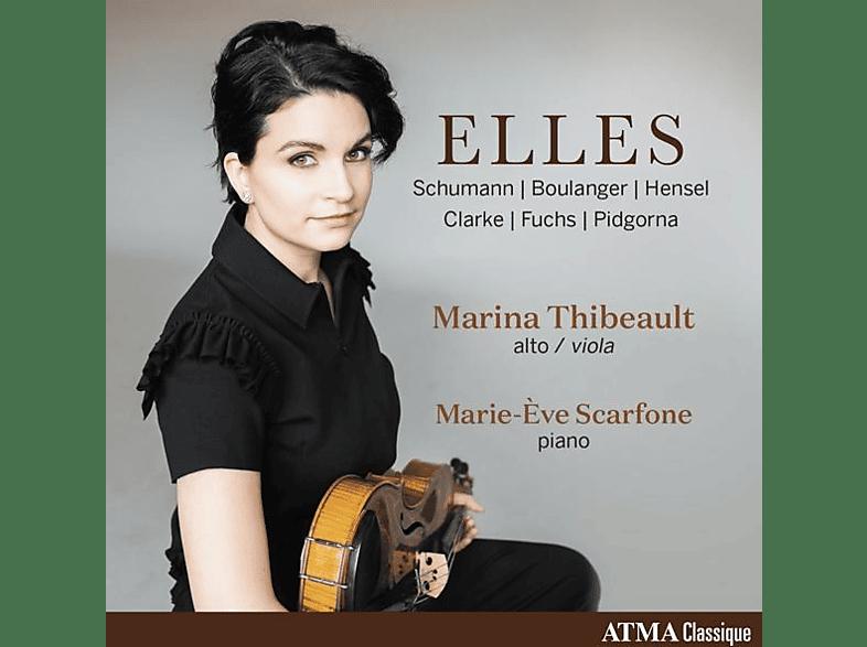 Marina Thibeault, Marie-Eve Scarfone - Elles [CD]