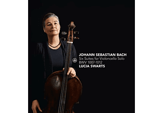 Lucia Swarts - Six Suites For Violoncello Solo BWV 1007-1012  - (CD)