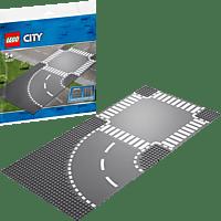 LEGO Kurve und Kreuzung Bausatz