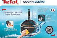 TEFAL B29904 Cook'n'Clean Bratpfanne (Aluminium, Beschichtung: PTFE, 240 mm)