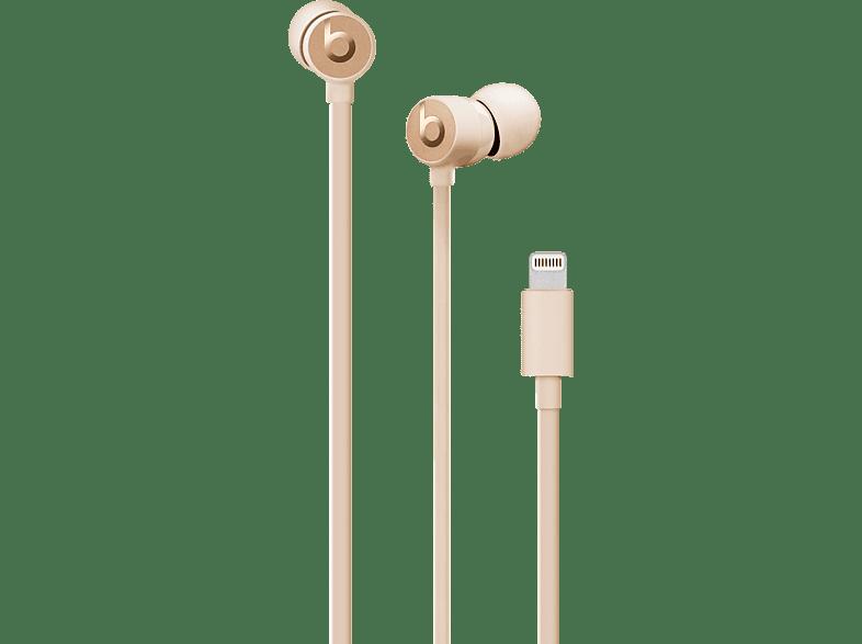 BEATS urBeats 3, In-ear Kopfhörer  Satin Gold