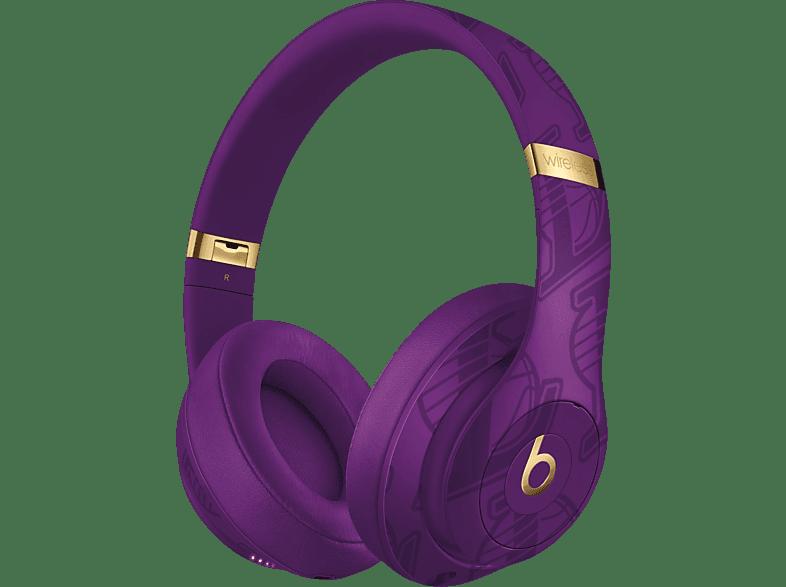 BEATS Studio3 Wireless Kopfhörer – NBA Collection – Lakers, Over-ear Kopfhörer Bluetooth Violett