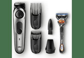 Barbero - Braun BT5060, Recargable, Cuchillas siempre afiladas, 39 ajustes longitud