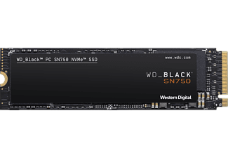 WD BLACK™ SN750 NVMe™, 250 GB, SSD, Interner Speicher, intern