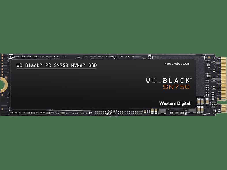 WD BLACK™ SN750 NVMe™ SSD 2 TB, 2 TB SSD, Interner Speicher, intern