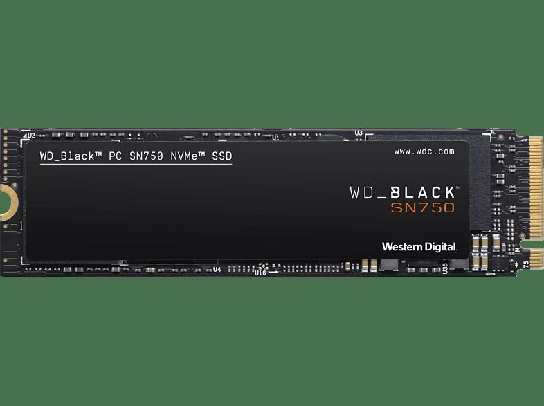 WD Black SN750 NVMe Festplatte, 1 TB SSD, Interner Speicher M.2, intern