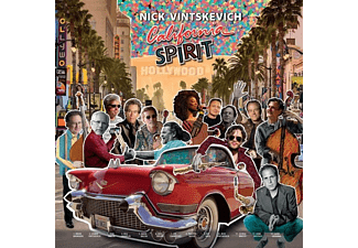 Nick Vintskevich - California Spirit Feat Bill Champlin - (Vinyl)
