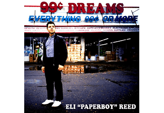"""Eli """"paperboy"""" Reed - 99 Cent Dreams  - (CD)"""