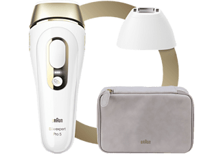 BRAUN Silk·Expert Pro 5 PL5124 Haarentfernung Weiß & Gold