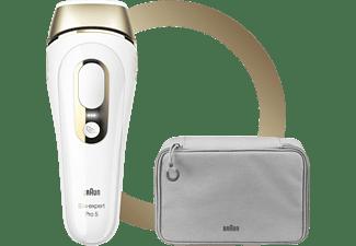 BRAUN Silk·Expert Pro 5 PL5014 Haarentfernung Weiß & Gold