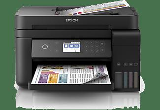 Impresora multifunción - Epson EcoTank ET-3750, Tinta inyección, WiFi, 15ppm