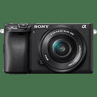 SONY Alpha 6400 mit Objektiv AF E 16-50mm 3.5-5.6 OSS PZ E-Mount (ILCE-6400LB)