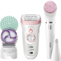 BRAUN Epilierer Set Silk-épil Deluxe Beauty-Set 9-995