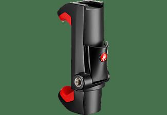 MANFROTTO PIXI Smartphone Halterung, Schwarz, Höhe offen bis 8.7 cm