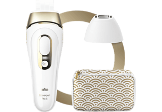 BRAUN Silk·Expert Pro 5 PL5137 Haarentfernung Weiß & Gold