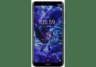 "Móvil - Nokia 5.1 Plus, Negro, 32 GB, 3 GB RAM, 5.8"" HD+, Mediatek Helio P60, 3060 mAh, Android"