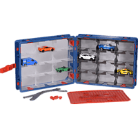 MAJORETTE Carry Case + 1 Car Aufbewahrungsbox