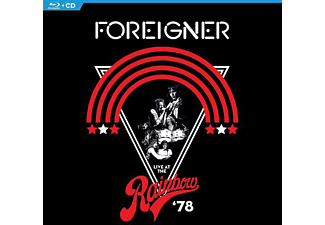 Foreigner - Live At The Rainbow '78  - (CD + Blu-ray Disc)