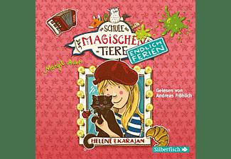 Die Schule der magischen Tiere. Endlich Ferien (4): Helene und Karajan  - (CD)