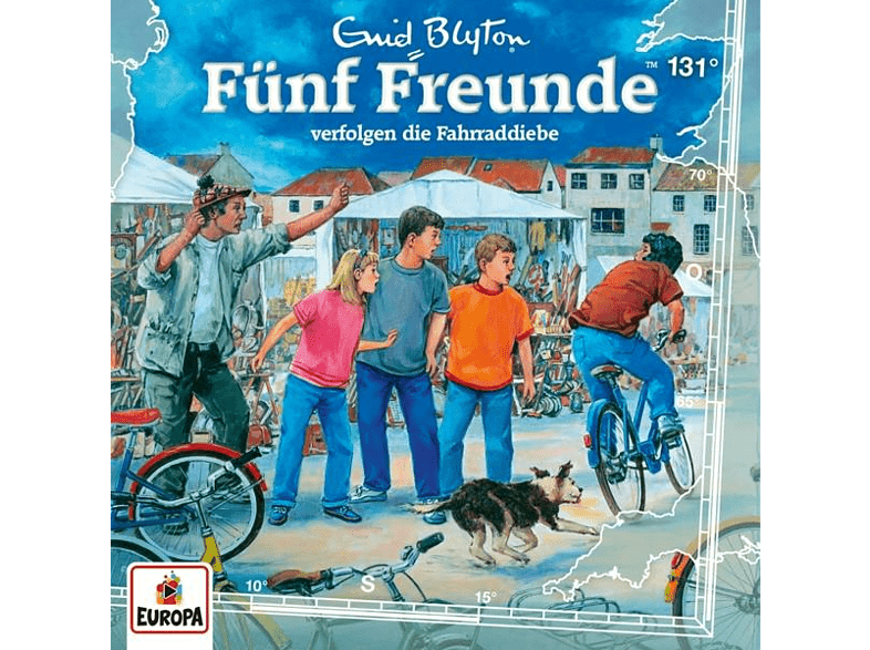 Fünf Freunde - 131/verfolgen die Fahrraddiebe - (CD)