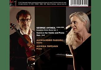 Fagiuoli,Alessandro/Toffanin,Alessia - Violinsonaten 1-4  - (CD)