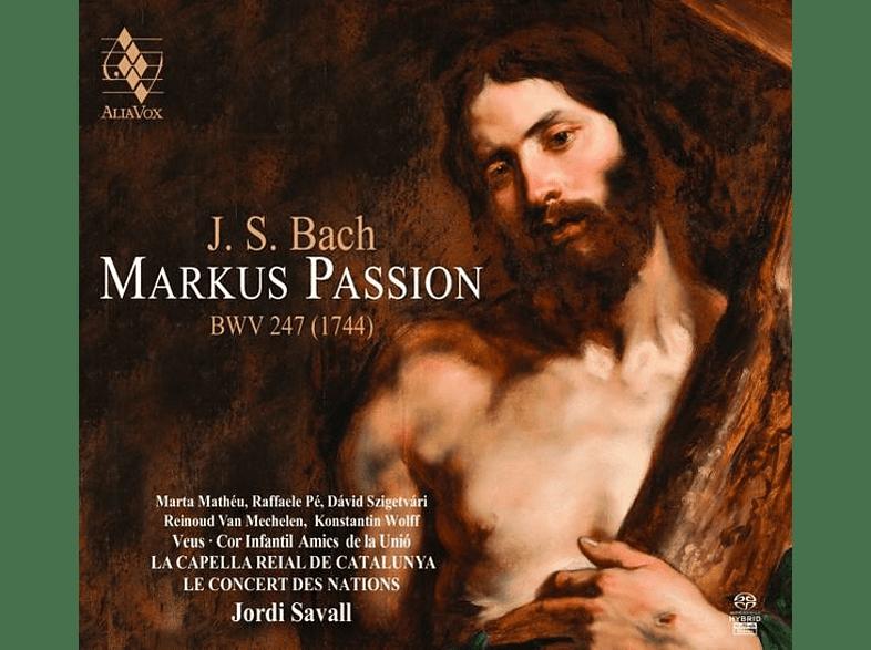 La Capella Reial De Catalunya, Le Concert Des Nations - Markus Passion BWV 247 [SACD Hybrid]