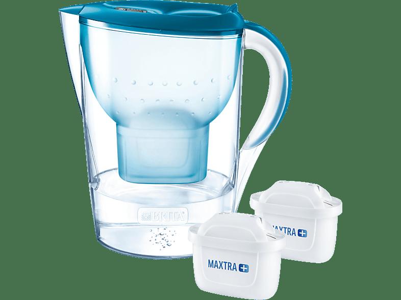 BRITA 100940 MARELLA XL PETROL + 2 MAXTRA Tischwasserfilter, Petrol