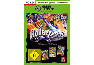 PC - Rollercoaster Tycoon 3: Deluxe Edition /D