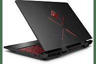HP OMEN 15-dc1350ng, Gaming Notebook mit 15.6 Zoll Display, Core™ i7 Prozessor, 16 GB RAM, 1 TB HDD, 128 GB SSD, GeForce® RTX™ 2060, Schwarz