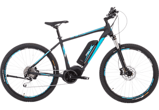 FISCHER EM 1864-S1 Mountainbike (27,5 Zoll, 48 cm, Trapez, 557 Wh, Schwarz matt)